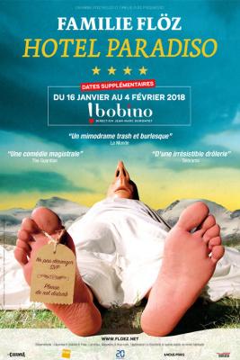 La Famille Flöz dans Hotel Paradiso à Bobino