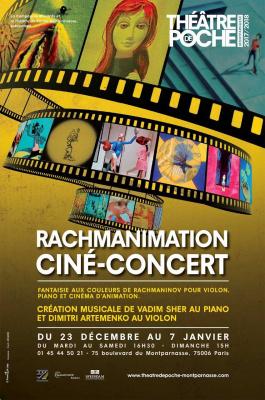 Rachmanimation : dessins animés russes en ciné-concert au Poche Montparnasse