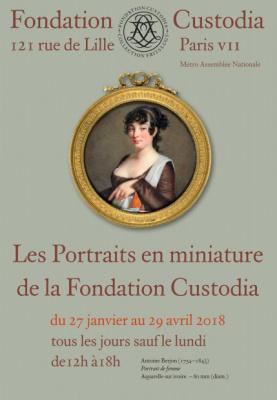 Les portraits en miniature s'exposent à la Fondation Custodia