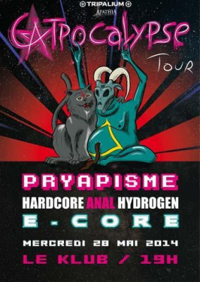 Pryapisme + Hardcore Anal Hydrogen + E-Core