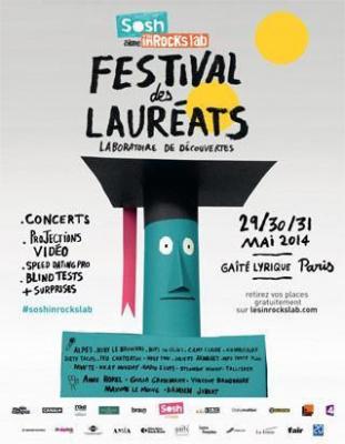 Festival des Lauréats Sosh aime les inRocKs lab
