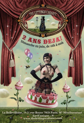 THE LETTINGO CABARET # 2 ANS DEJA !