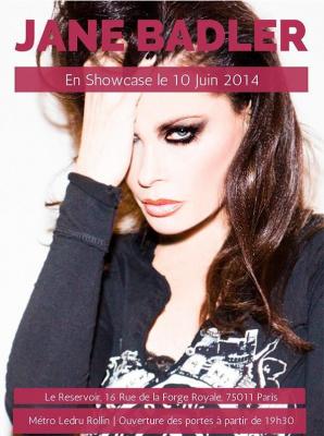 Jane Badler en concert à Paris le 10 Juin