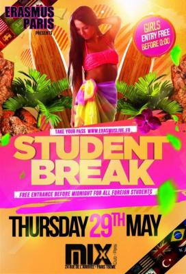 Erasmus Paris : Student Break