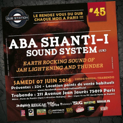 Dub Station #45 ABA SHANTI I SOUND SYSTEM