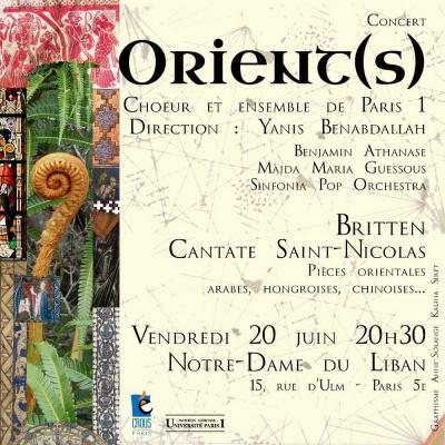 Concert Orient(s)