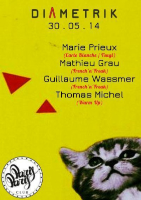 DIAMETRIK : MARIE PRIEUX, MATHIEU GRAU, GUILLAUME WASSMER, THOMAS MICHEL @ ParisParis Club