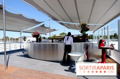 Molitor : terrasse rooftop