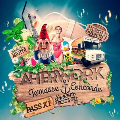 Afterwork Terrasse Concorde ( Mojito, Burgers, Entrée Gratuite )