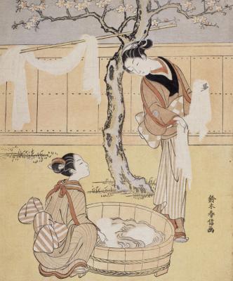 Suzuki Harunobu au Musée Guimet