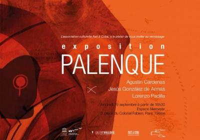 L'exposition Palenque à l' espace Oscar Niemeyer