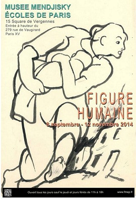 Maurice Mendjizky et la Figure Humaine au Musée Mendjisky- Écoles de Paris