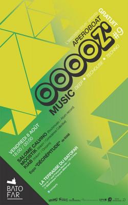 OOOOZ' music # 9: Mixs, expo et mojitos :)