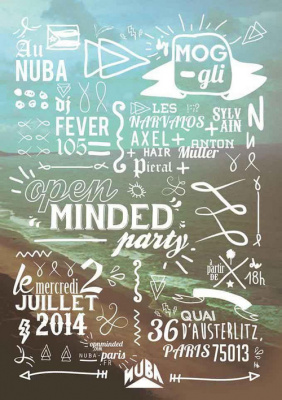 OPEN MINDED PARTY @NÜBA