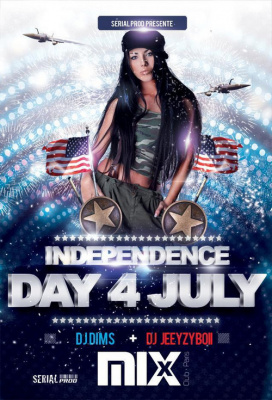 American independence @Mix Club