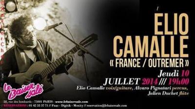 Concert Élio Camalle