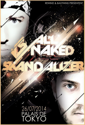 ALL NAKED  vs SKANDALIZER