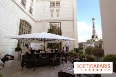 La terrasse d'été du Shangri-La Paris by Belvedere