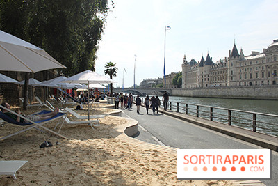 Paris Plage 2014 : sable