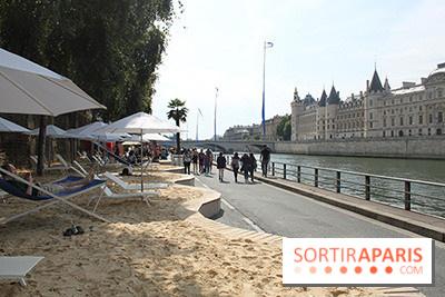 Paris Plage 2014 : sable