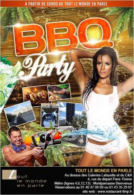 "BBQ PARTY "" The Closing"" No Rulesssssssssss sur les toits de paris"