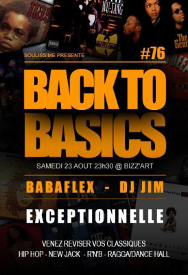 Back To Basics exceptionnelle