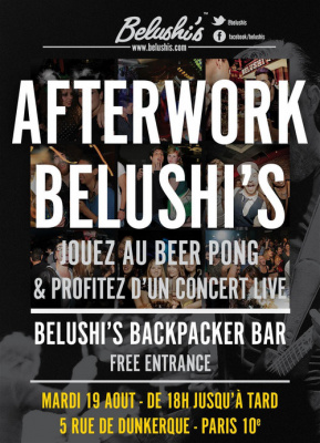Afterwork Belushi's Party