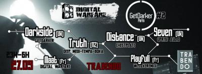 Digital Warfare presents : GetDarker PARIS part 2
