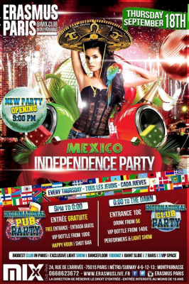 International Pub Party - Fête du Mexique