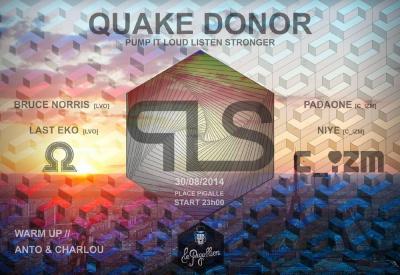 PILLS #2 - Quake Donor
