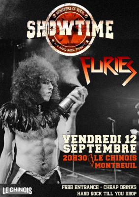 Showtime x Furies en concert