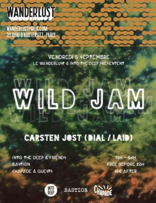 Wild Jam W/ Carsten Jost, Into The Deep & Friends
