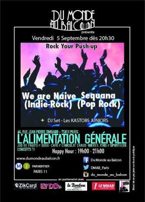 Concert Rock le 05/09 à Paris