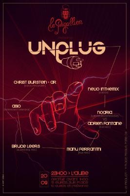 UNPLUG W/ Manu Ferrantini+Asio+Christ Burstein+Nelio+Bruce Leers+Adrien Fontaine&Noaria