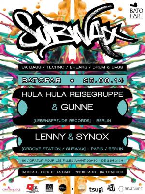 SUBWAX #4