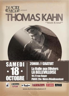 Concert Blues-Soul le 18 Octobre à La Bellevilloise