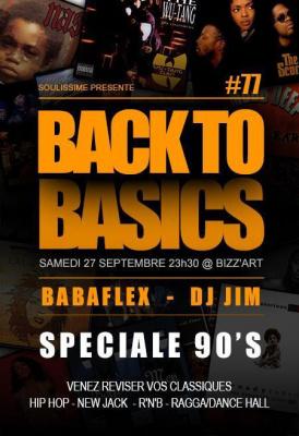 Soirée Back to Basics spéciale 90's