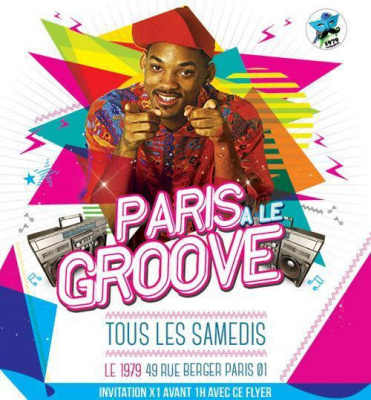 SOIRÉE PARIS A LE GROOVE