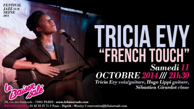 """TRICIA EVY """"FRENCH TOUCH"""""""