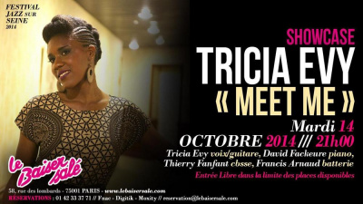 SHOWCASE – TRICIA EVY « MEET ME »