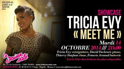 SHOWCASE – TRICIA EVY « MEET ME »