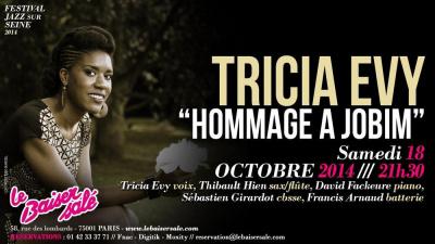 """TRICIA EVY """"HOMMAGE A JOBIM"""""""