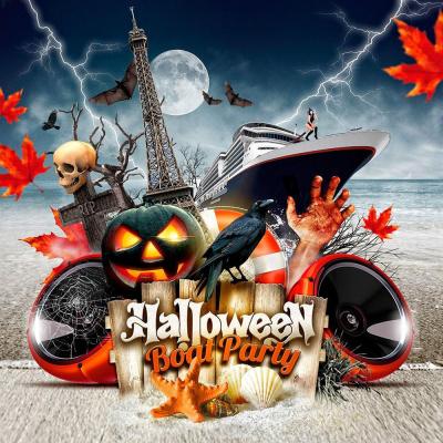 Halloween Boat Party (Croisière / Open Bulles / BBQ)