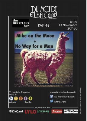 Concert Pop Rock jeudi 13 novembre au Bootleg Bar