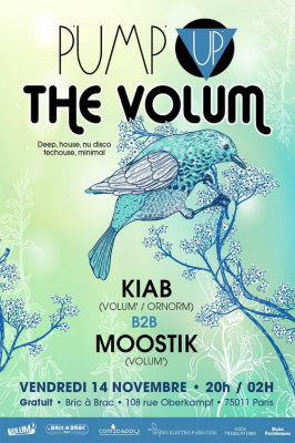 Pump Up The Volum' (novembre)