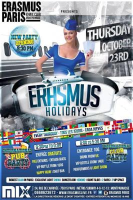 Erasmus Holidays