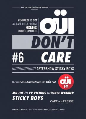 OUI Don't Care #6