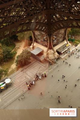 Le premier étage de la Tour Eiffel rénové