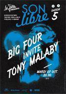 SON LIBRE : Big Four invite Tony Malaby