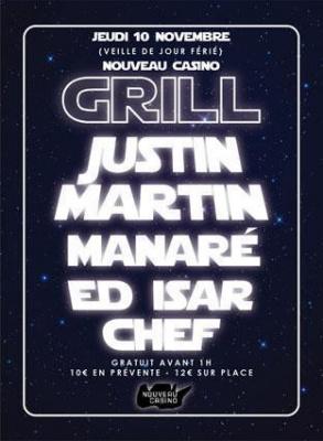 GRILL :: JUSTIN MARTIN